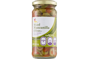 Ahold Manzanilla Olives Sliced