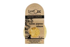 Мыло-скраб чайное дерево-лимон Lux'One 90г