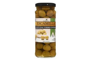 Оливки Мансанільйо зелені з/к 195г скло Ескамілья