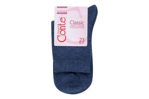 Шкарпетки жіночі Conte Classic №7С-22СП 23 000 джинс