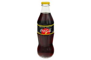 Напиток безалкогольный сильногазированный Лимон Coca-Cola Zero с/бут 250мл