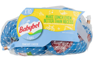 Mini Babybel Light Semisoft Cheeses   10 CT
