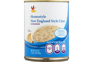 Ahold Chowder Homestyle New England Style Clam