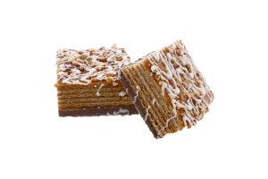 Пирожное вафельное Тортино ореховое Рядинська кг