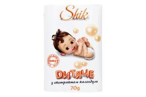 Мило туалетне дитяче з екстрактом календули Шик 70г