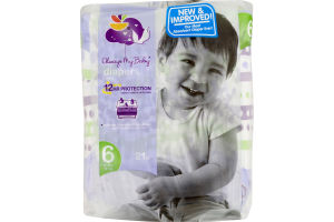 Always My Baby Diapers Size 6 (35+ lbs) - 21 CT