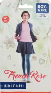 Колготи дитячі Boy&Girl French rose 60den 140-146 jeans