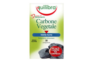 Добавка диет Equilibra Carbone Vegetale Древ/уголь