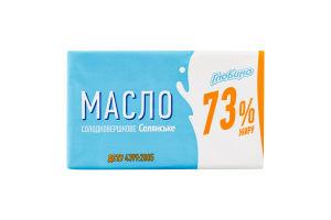 Масло 73% крестьянское сладкосливочное Глобино м/у 180г