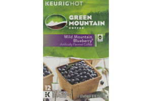 Green Mountain K-Cup Pods Wild Mountain Blueberry - 12 CT