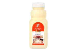 Бифидойогурт 2.8% со вкусом облепихи-шиповника Zinka п/бут 300г