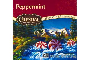 Celestial Seasonings Herbal Tea Peppermint - 40 CT