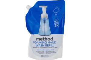 Method Foaming Hand Wash Refill Sea Mineral