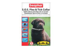 Ошейник против блох и клещей для щенков от 2мес S.O.S. Beaphar 1шт
