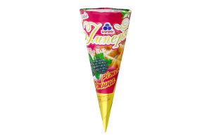 Мороженое Рудь Империя йогурт-ежевика рожок 100г