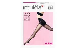Колготки жіночі Intuicia Silhouette 40den 3 black