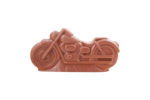 Фигурка из молочного шоколада Мотоцикл