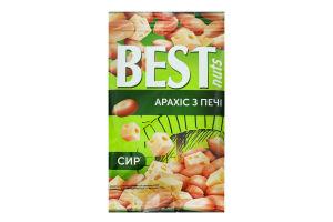Арахіс смажений солоний зі смаком сиру Best nuts м/у 80г