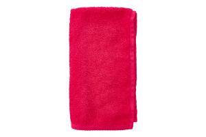 Серветка махрова рожева 30х50см Баркас-Текс 1шт