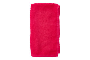 Салфетка махровая розовая 30х50см Баркас-Текс 1шт