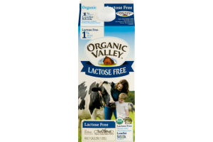 Organic Valley Lactose Free 1% Reduced Fat Milk