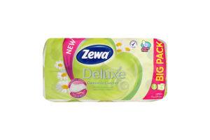Туалетная бумага 3-х слойная Ромашка Deluxe Zewa 16шт