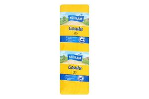 Сыр 48% полутвердый Gouda Milram кг
