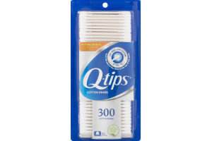 Q-tips Cotton Swabs - 300 CT
