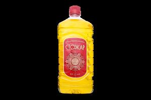 Масло подсолнечное рафинированное Шеф Стожар п/бут 1.6л