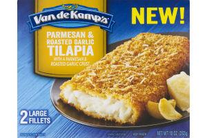 Van de Kamp's Parmesan & Roasted Garlic Tilapia - 2 CT