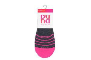 Шкарпетки-сліди жіночі Duna №8014 23-25 темно-сірий