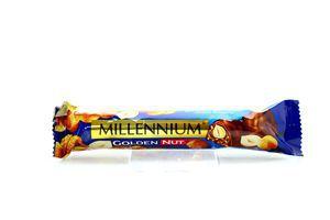 Шоколад Golden Nut молочный Millennium 40г