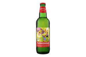 Напій безалкогольний с/газ Лимонад Уманьпиво с/бут 0.5л