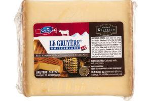 Emmi Le Gruyere Gruyere Cheese