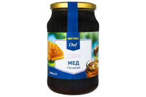 Мед натуральний гречаний Metro Chef с/б 1.2кг
