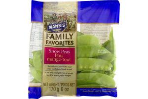Mann's Family Favorites Snow Peas
