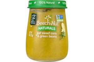 Beech-Nut Naturals Just Sweet Corn & Green Beans Stage 2
