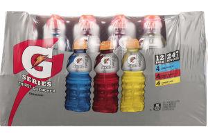 Gatorade G Series Thirst Quencher Variety Pack - 12 CT