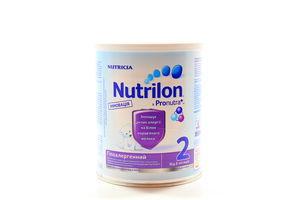 Смесь Nutricia №2 Гипоаллергенный Nutrilon 400г ж/б