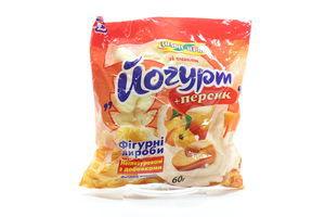 Кукурузные палочки со вкусом йогурт-персик Золоте Зерно м/у 60г