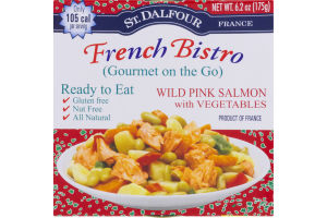 St. Dalfour French Bistro Wild Pink Salmon with Vegetables