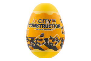 Конструктор Строительство в яйце в ассорт D*01