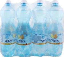 Напій безалкогольний сильногазований зі смаком лимона та апельсина Оболонська п/пл 1л