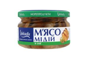 Мидии в масле Veladis с/б 200г