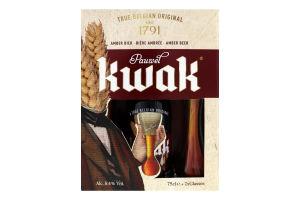 Набор пива подарочный с пивными бокалами Pauwel Kwak 1шт