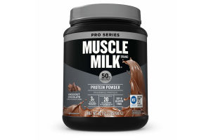 Muscle Milk Pro Series Protein Powder, Knockout Chocolate, 50g Protein, 2 Lb