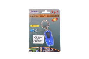 Ніж-брелок Azimut багатофункціональний 7в1 00852