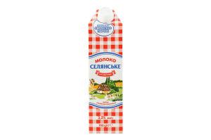 Молоко 3.2% ультрапастеризоване Особливе Селянське т/п 950г