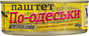 Паштет По-одесски Онисс ж/б 240г