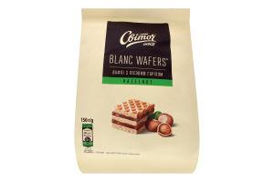 Вафли с лесным орехом Blanc wafers Світоч м/у 150г